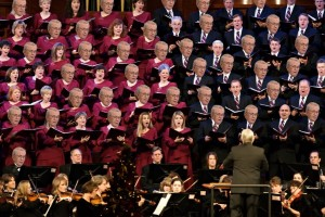 "55% of the choir members in the photo have been ""modified"" to reflect the percent of Utah Mormons who are bigots, like Boyd (click for full size)"