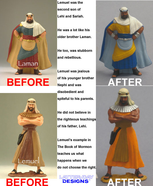 Laman and Lemuel: Before and After